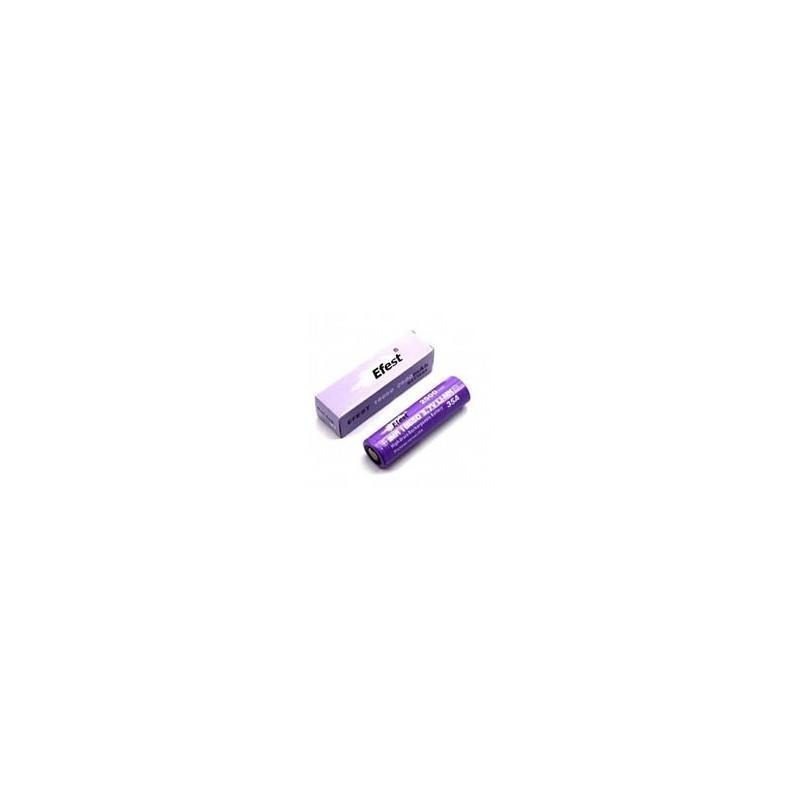 Efest IMR 18650-P35A 2500mah senza pin