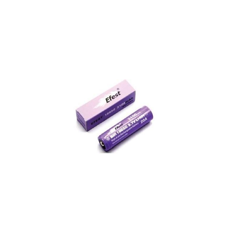 Efest IMR 18650-P20A 3100mah con Pin