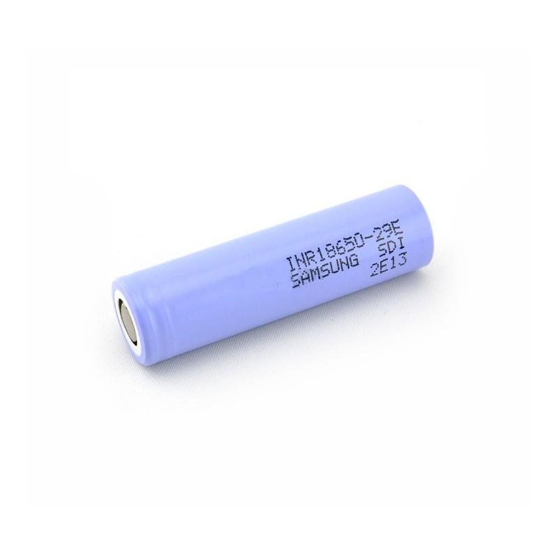 Samsung INR 18650 29E 2900mAh senza pin