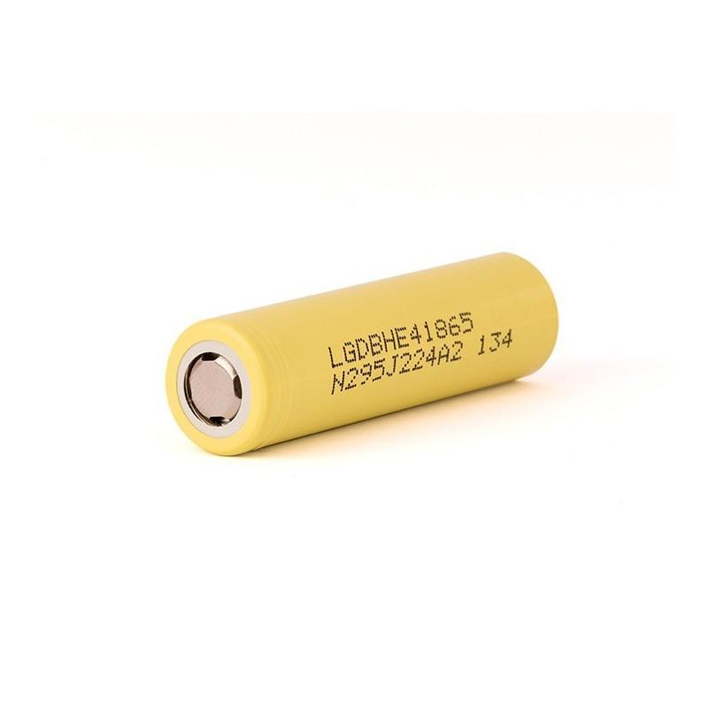 LG ICR 18650-HE4 - 2500mAh 20A senza pin