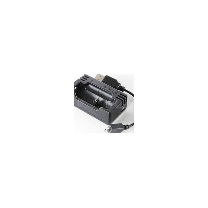 Justfog Caricabatterie per batterie 18350