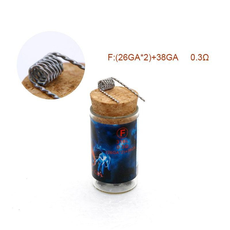 Demon Killer Flame Coil DIY Vape Wires - 6pz