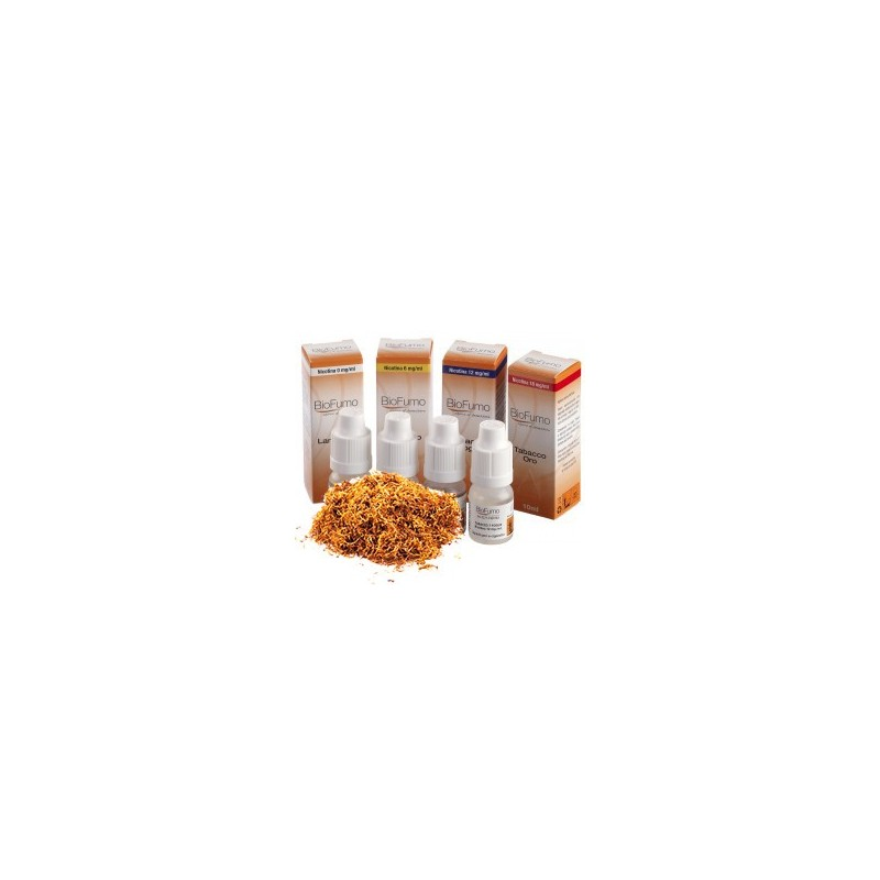 Biofumo Tabacco Oro liquido pronto tabaccoso