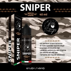 EnjoySvapo Sniper by Il Santone Dello Svapo - Mix and Vape -