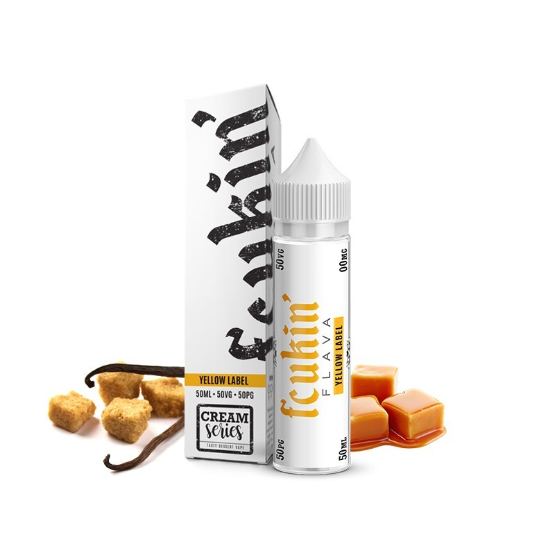 Fcukin' Flava Yellow Label - Mix and Vape - 50ml