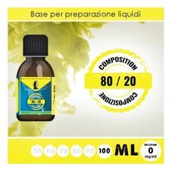 LOP Base Neutra 80/20 100ml - 0mg/ml