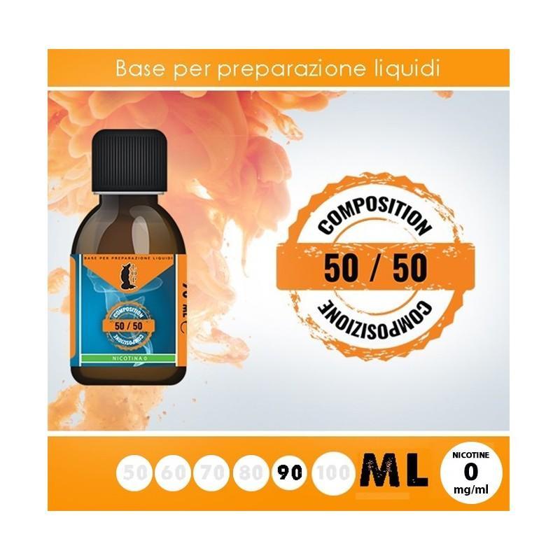 Lop Base Neutra 50/50 90ml - 0mg/ml