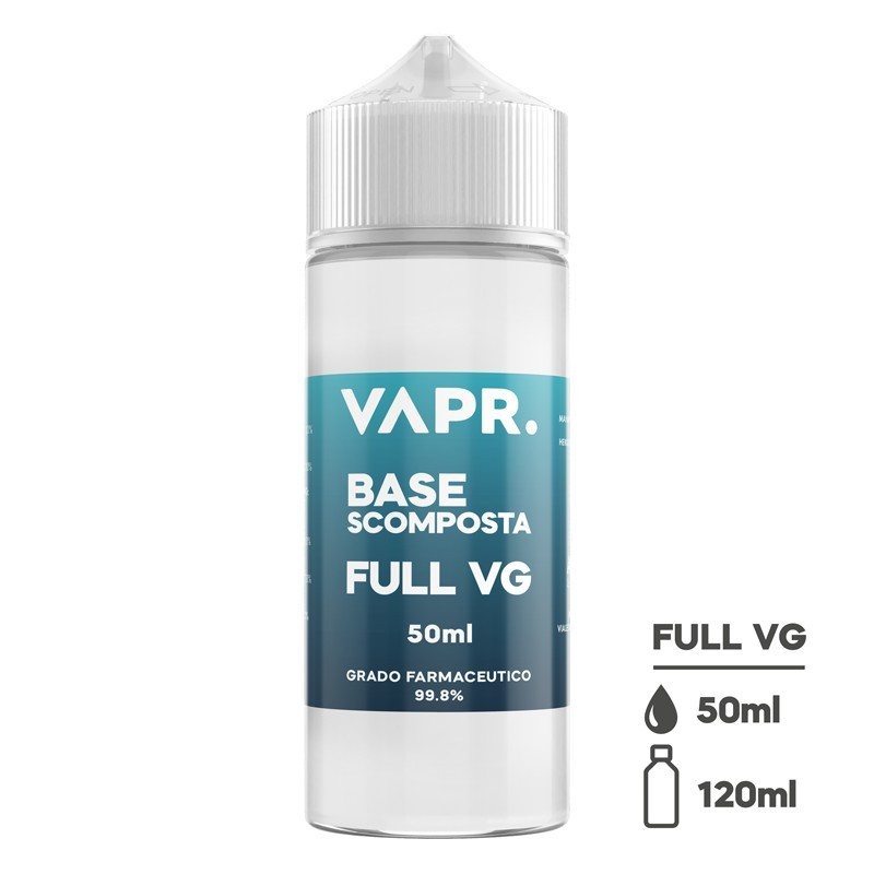 Glicerina-Vegetale-FULL-VG-By-VAPR - 50ml in 120ml