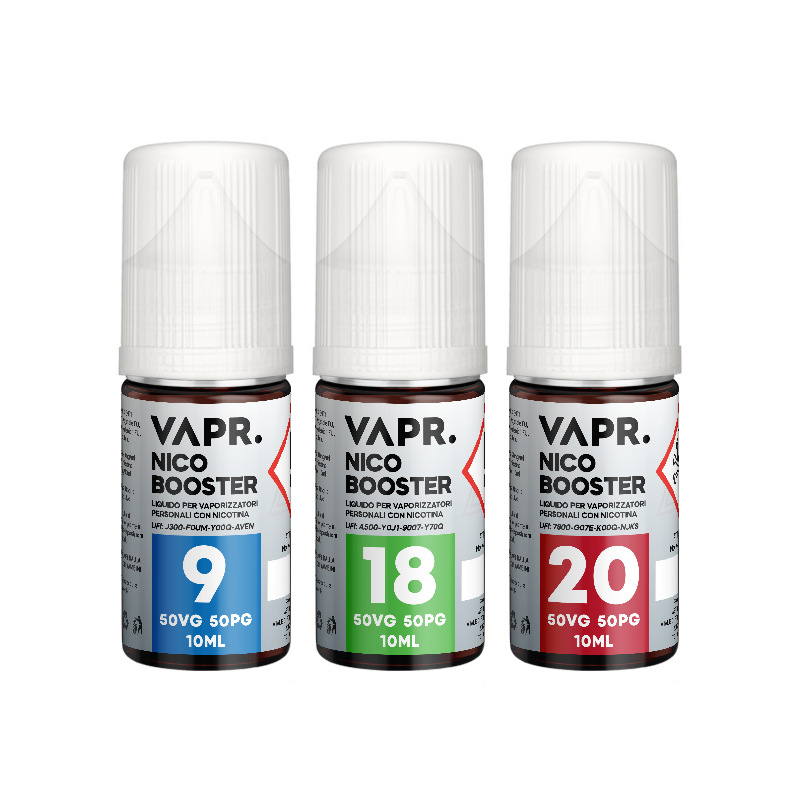 VAPR. Base NicoBooster 50/50 - 10ml